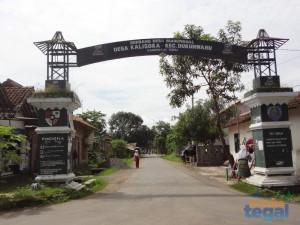 Gerbang Desa Wisata Sejarah Kabupaten Tegal