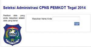 CPNS Pemkot Tegal 2014