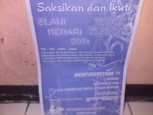 Slawi Menari 2014