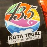 Logo HUT Kota Tegal