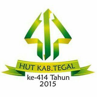 Logo HUT Kabupaten Tegal ke-414 2015
