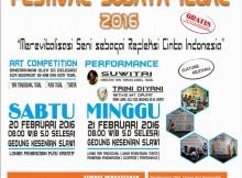 Festival Budaya Tegal 2016