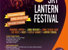 Sky Lantern Festival di Citraland Tegal