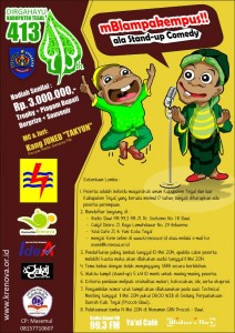Lomba Stand-up Comedy ala tegalan