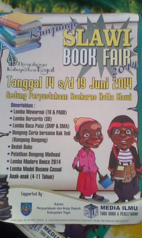 Slawi Book Fair 2014