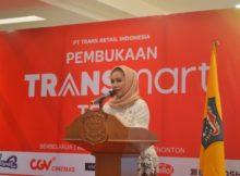 Pembukaan Transmart Tegal oleh Walikota Tegal